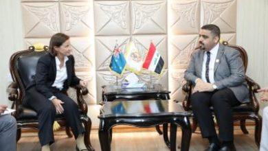 Photo of مفتش عام الداخلية يلتقي السفيرة الاسترالية في بغداد ويبحث معها سبل التعاون المشترك