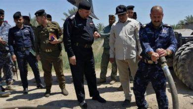 Photo of شرطة الطاقة : ضبط خرقين على انابيب نفط في ديالى