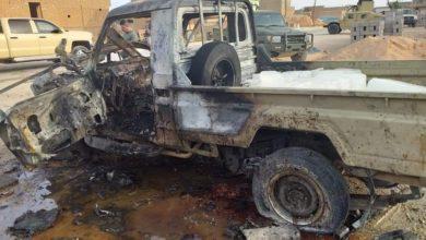 Photo of انفجار عجلة مفخخة في منطقة الكرابلة غربي الانبار