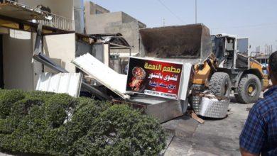 Photo of امانة بغداد: ازالة مخالفات بنائية ضمن شارعين رئيسيين شرقي العاصمة