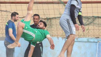 Photo of غدا .. الجيش يواجه مصافي الوسط في نهائي دوري الكرة الشاطئية
