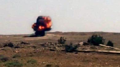 Photo of تفجر مخلفات لداعش وتأمين طريق طريبيل
