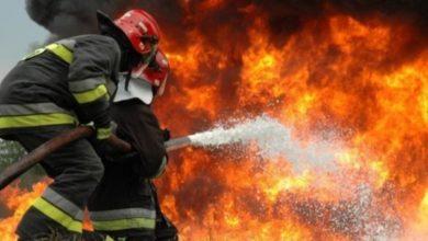 Photo of حريق في أنبوب النفط في جنوب ايران