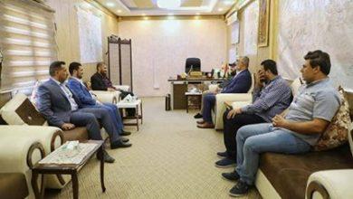 Photo of وفد من مديرية إعلام الحشد الشعبي يزور مقر فرقة العباس (ع) القتالية