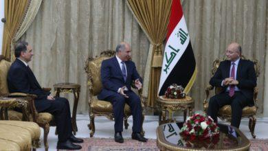 Photo of رئيس الجمهورية يستقبل سفراء العراق الجدد لدى تركيا والتشيك والامارات