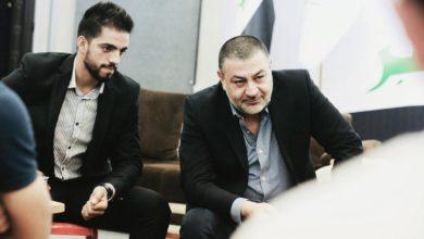 Photo of أراس حبيب يرعى بطل الكراتيه العراقي مصطفى محمد