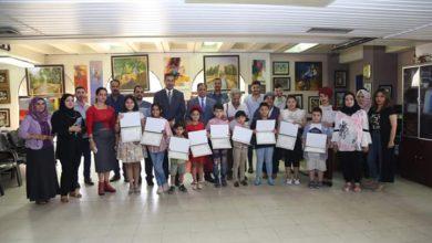 Photo of اختتام دورة تعليم فن الرسم للأطفال الموهوبين في دائرة الفنون العامة