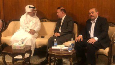Photo of الان.. وزير الداخلية مع سفير مملكة البحرين في مقر السفارة البحرينية في بغداد
