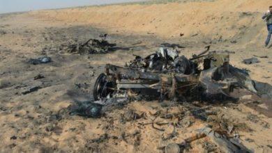 Photo of الحشد يدمر عجلة مفخخة ويعثر على عبوات و مواد متفجرة بمنطقة الجزيرة