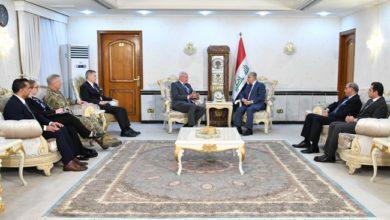 Photo of وزير الخارجيَّة يلتقي ماثيو تولر سفير واشنطن لدى بغداد، والسيِّد جيمس جيفري المبعوث الخاصَّ إلى سوريا