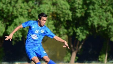 "Photo of ""التيفوئيد"" يُغيب كرار نبيل عن مباراة نفط الوسط"
