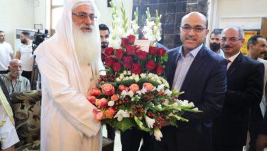 Photo of محافظ بغداد يزور مندى الصابئة المندائية ويهنئهم بالعيد الأكبر