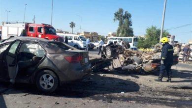 Photo of حادث مروع على طريق محمد القاسم يؤدي بحياة شخصين