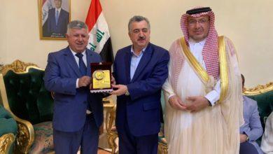 Photo of السفارة العراقية في قطر تقيم مأدبة عشاء على شرف منتخبنا الشبابي الدوحة