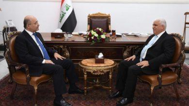 Photo of رئيس الجمهورية يؤكد للفياض ضرورة تضافر وتكامل جهود المؤسسات الأمنية والعسكرية