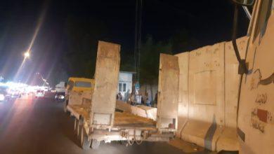 Photo of رفع الكتل الكونكريتية من محيط جامعة البيان في السيدية
