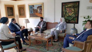 """Photo of رئيس المجلس الأعلى للثقافة """"هشام عزمي"""" التطوير مشروعنا المشترك وليّ الفخر بزيارة بلد الحضارات"""