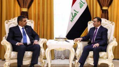 Photo of الجبوري يستقبل وزير الدفاع ويبحث معه تطورات الأوضاع الأمنية في البلاد، ويؤكدان ضرورة الحفاظ على أمن العراق وسيادته