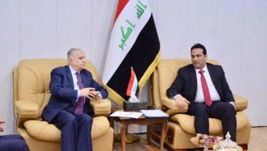 Photo of الجبوري يستقبل وزير الخارجية.. ويبحثان التخصيصات المالية الخاصة بالوزارة في موازنة عام ٢٠٢٠
