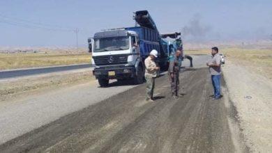 Photo of تأهيل الطريق الرابط بين الموصل ودهوك