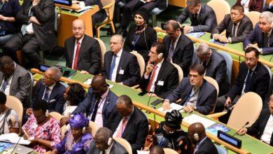 Photo of وزير التخطيط يشارك في افتتاح اعمال الجمعية العامة للامم المتحدة