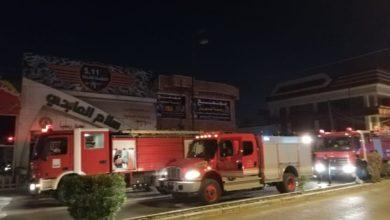 Photo of بالصور.. اخماد حريق معرض بيع الأسلحة والتجهيزات العسكرية في النجف الأشرف