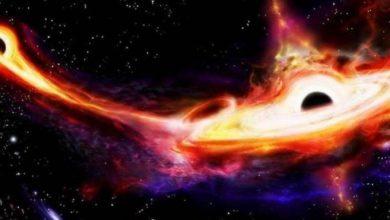 Photo of 3 ثقوب سوداء عملاقة في مسار تصادمي هائل