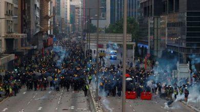 Photo of انتشار أمني كثيف في هونغ كونغ