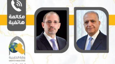 Photo of اتصال هاتفيّ يجمع وزير الخارجيّة مع نظيره الأردنيّ أيمن الصفديّ