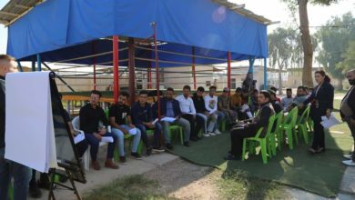 Photo of الشباب والرياضة تواصل تنفيذ مشروع دعم الادماج الاجتماعي والاقتصادي للشباب العراقي المتضرر من النزاع