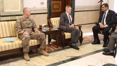 Photo of وزير الدفاع يستقبل السفير الامريكي