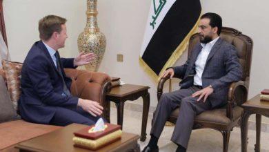 Photo of رئيس مجلس النواب و السفير البريطاني يؤكدان على أهمية تعزيز الشراكة الاقتصادية والاستثمارية بما يسهم في توفير فرص عمل جديدة