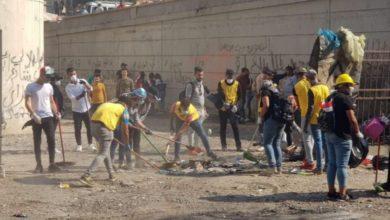 Photo of امانة بغداد تستنفر ملاكاتها الخدمية في ساحتي التحرير والخلاني