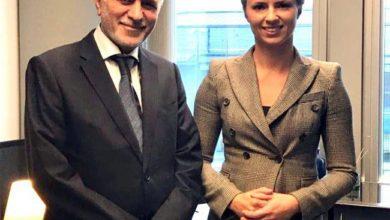 Photo of سفير جمهورية العراق لدى بلجيكا يلتقي رئيس لجنة العلاقات مع العراق في البرلمان الأوربيّ