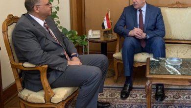 Photo of سفير جمهوريّة العراق لدى القاهرة يلتقي مُساعِد وزير الخارجيّة المصريّ للشُؤُون العربيّة