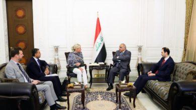 Photo of رئيس مجلس الوزراء السيد عادل عبدالمهدي يستقبل الممثلة الخاصة للأمين العام للأمم المتحدة