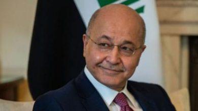 Photo of رئيس الجمهورية : القصف الأميركي على مقرات الحشد الشعبي انتهاك لسيادة العراق
