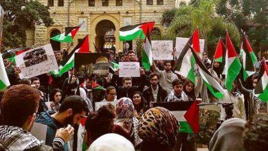 Photo of تقرير إسرائيلي : تزايد التأييد للفلسطينيين بالجامعات الأميركية