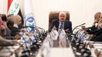 Photo of وزير الموارد المائية لغرض مناقشة حالة الفيضان في ضوء استمرار ارتفاع واردات المياه في نهر الفرات