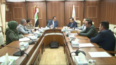 Photo of اجتماع لبحث سبل ضمان ايصال الخدمات الأساسية للعشوائيات