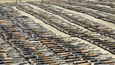 Photo of في قبضة الامن.. (لوري) أسلحة متوجه من كركوك الى بغداد