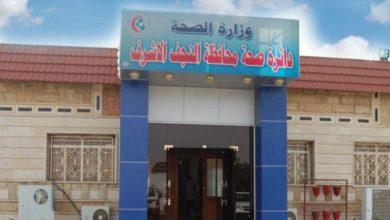 Photo of صحة النجف الاشرف تعلن تسجيل ٣ إصابات فيروس كورونا في المحافظة