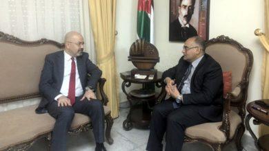Photo of سفير جمهورية العراق لدى عمّان يلتقي وزير الثقافة الأردنيّ