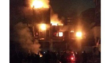 Photo of الدفاع المدني : عشرون فرقة تشارك في إخماد حريق حافظ القاضي