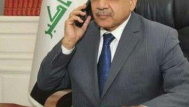 Photo of عبدالمهدي يتلقى اتصالا هاتفيا من وزير الخارجية الفرنسي.. والأخير يشكر الحكومة لجهودها في إطلاق سراح الصحفيين الفرنسيين