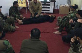 Photo of الحشد الشعبي ينظم دورة جديدة للإسعاف الحربي لمقاتليه