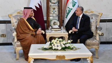Photo of وزير الخارجيّة يلتقي نائب رئيس مجلس الوزراء وزير الخارجيّة القطريّ