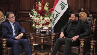 Photo of الكعبي يدعو للبدء بتنفيذ الاتفاقية العراقية الصينية والسفير الصيني يؤكد جاهزية بلاده