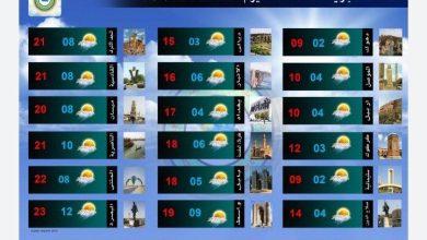Photo of تعرف على الحالة الجوية في العراق لهذا اليوم