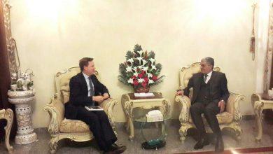 Photo of الأمين العام للحزب الإسلامي يستقبل السفير البريطاني ويبحث معه تطورات الوضع السياسي العراق